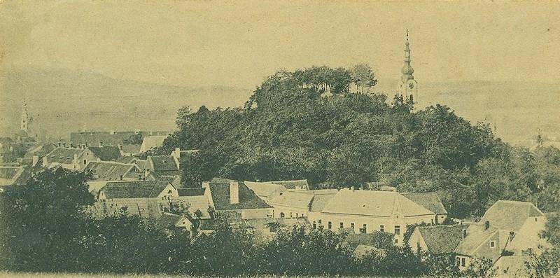 Pogled na Stari grad 1901. godine