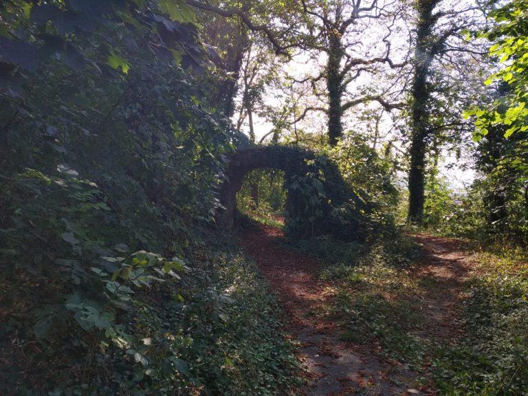 Ostaci utvrde na Strossmayerovom šetalištu