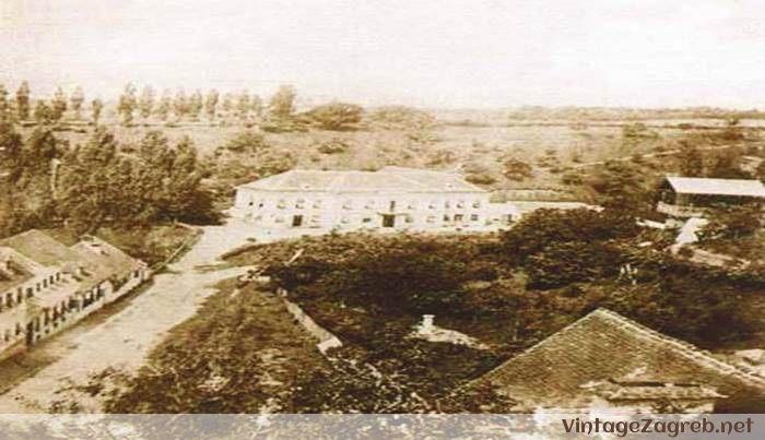 Streljački dom Tuškanac 1845.