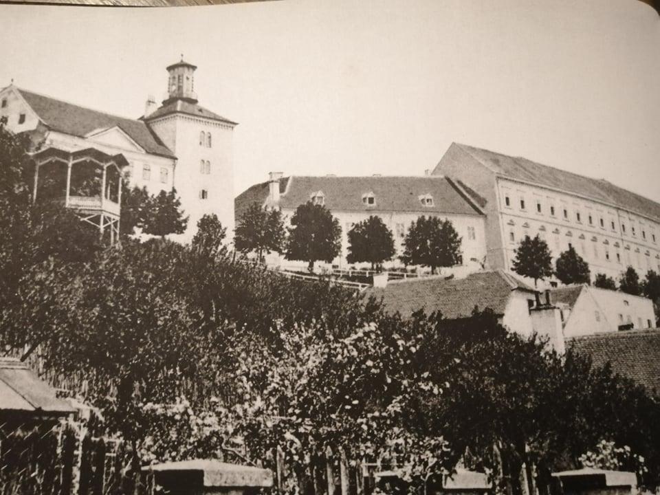 Strossmayerovo šetalište 1892. godine.
