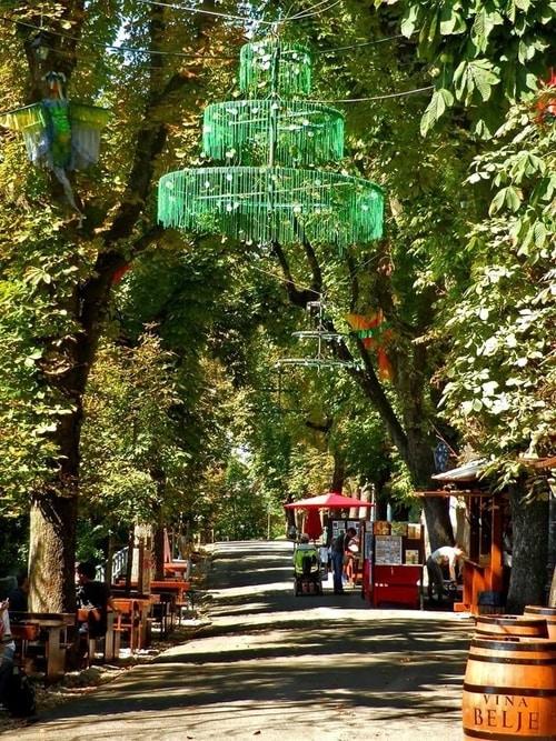 Strossmayerovo šetalište danas