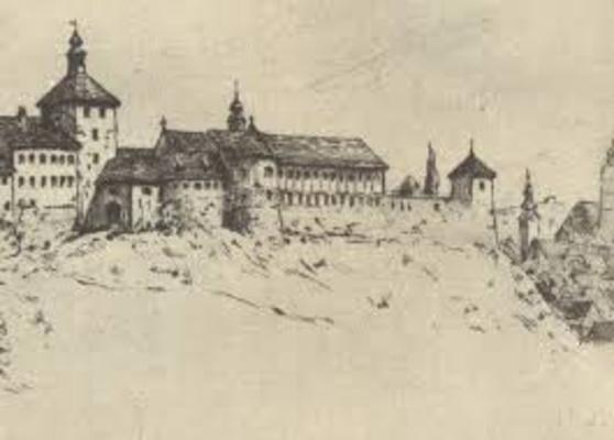 Gradec prije izgradnje Strossmayerovog šetališta