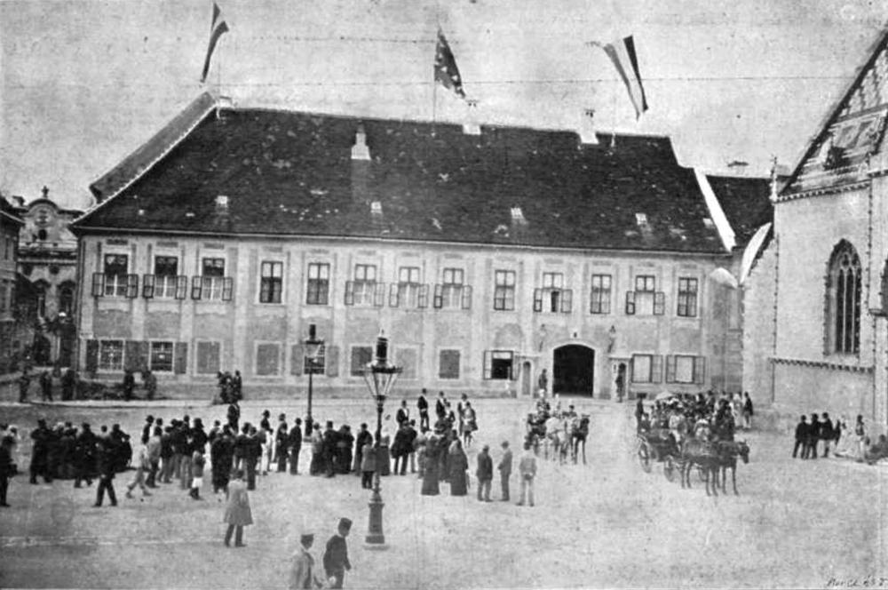 Banski dvori 1895.